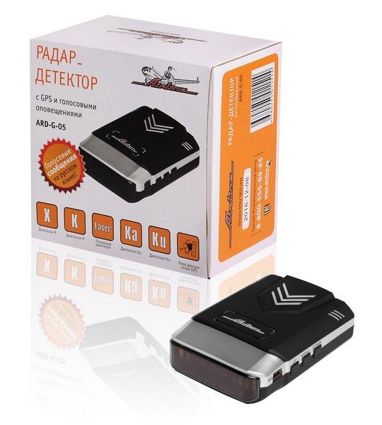 Радар-детектор + GPS голосовой с LED дисплеем (ARD-G-05)