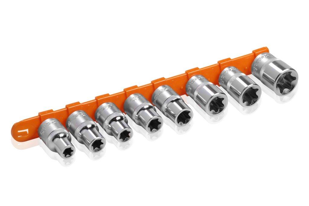 Набор головок 1/2 DR TORX E10-E24 на подвесе 8 предметов