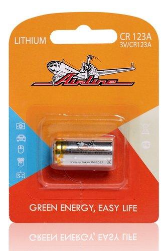 Батарейка CR123A 3V литиевая 1 шт.