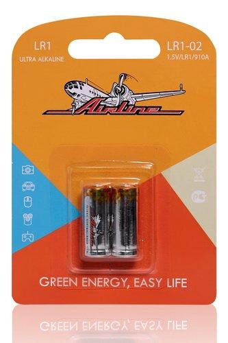 Батарейка LR1/910A щелочная 2 шт