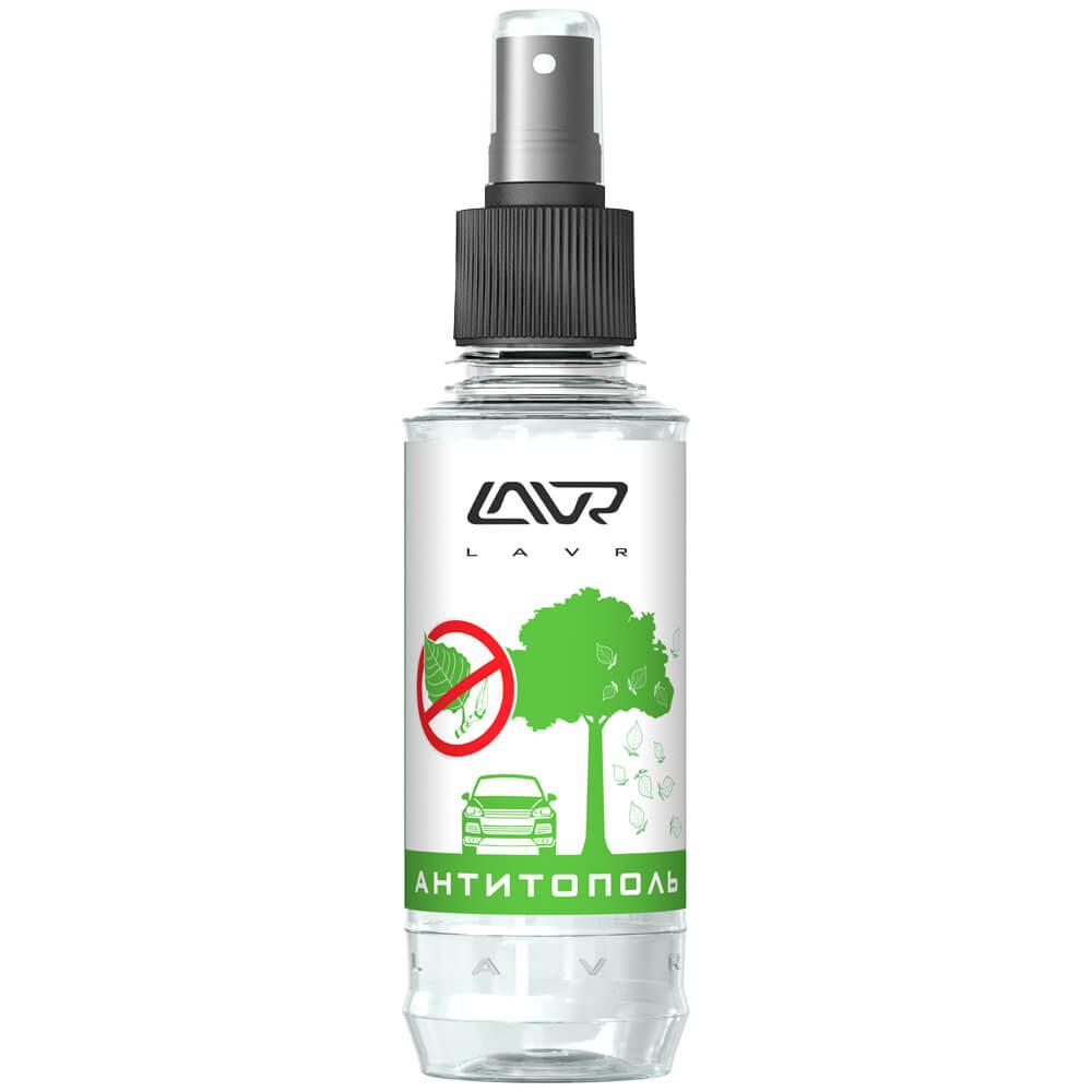 Очиститель LAVR Ln1423 антитополь со спреем LAVR Anti Poplar No Scratch 185мл