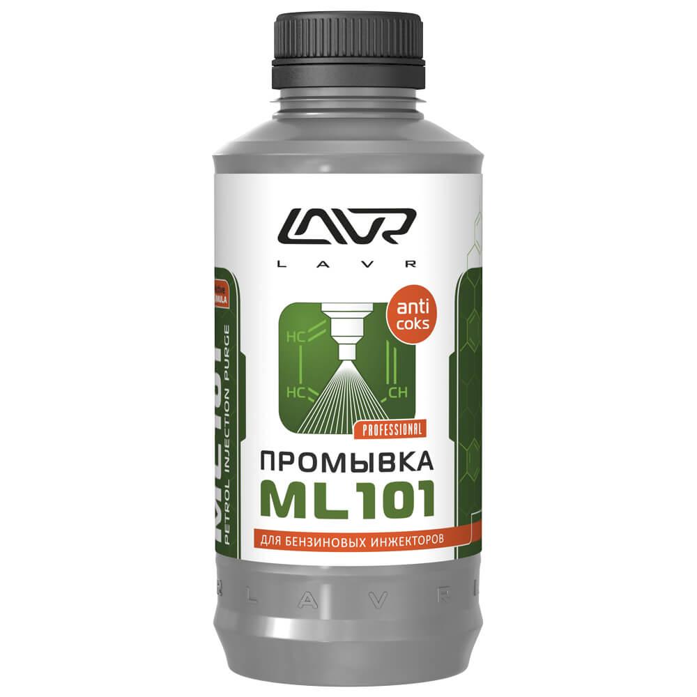 Промывка LAVR Ln2001 д/инж. дв. с ракоксов.  эффектом 1л МЛ 101