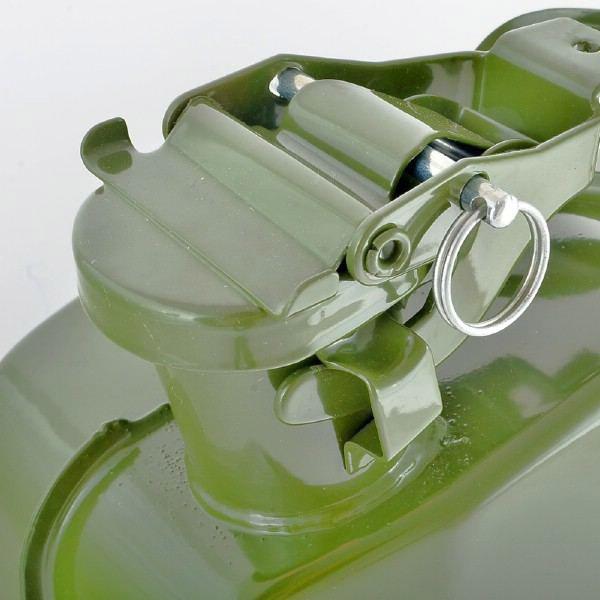 Канистра металлическая SKYWAY 10л вертикальная Антикоррозийное покрытие, оцинкованная