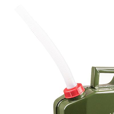 Канистра металлическая SKYWAY 10л вертикальная Антикоррозийное покрытие, резьбовая крышка
