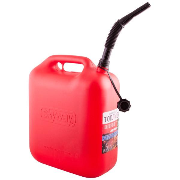 Канистра для бензина SKYWAY 20л пластик