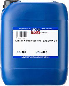 Компрессорное масло LIQUI MOLY LM 497 Kompressorenoil 20W-20